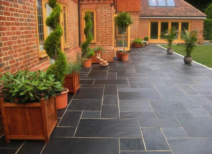 manufacture of paving tiles at home