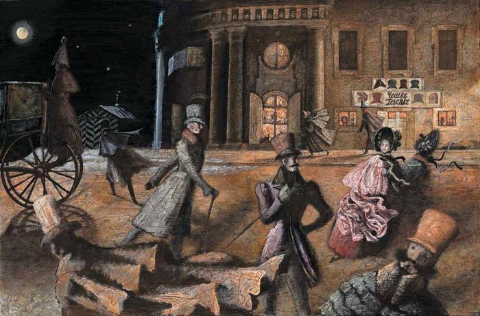 Gogol story Nevsky Prospect summary