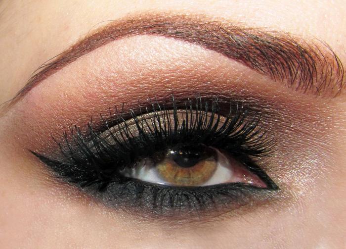 Глаза болотного цвета Макияж для