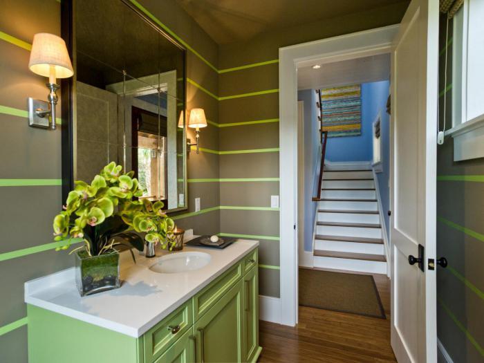 Комнат зеленый цвет