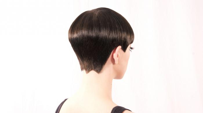 стрижка волос сессон