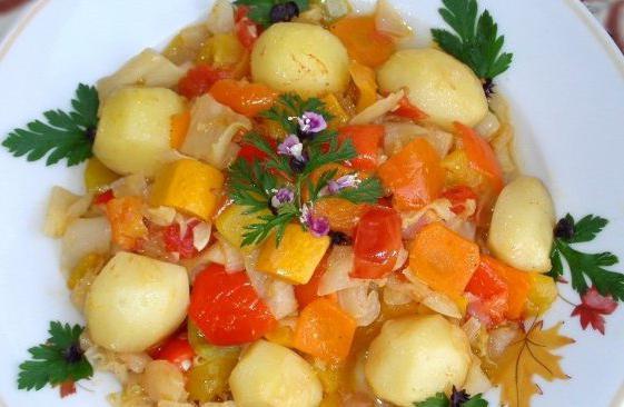 рецепты замороженные овощи в мультиварке на пару в