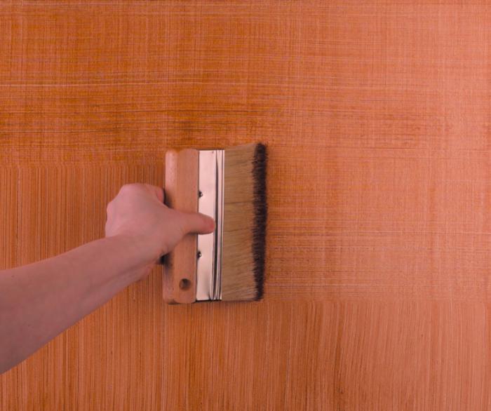 Окраска стен фактурной краской своими руками 61