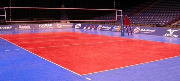 Размеры волейбольной площадки