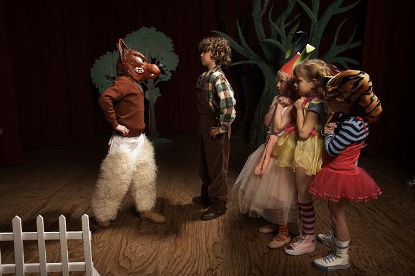сценка про зверей смешная для детей