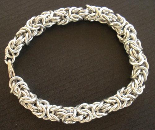 Виды плетения браслетов из серебра