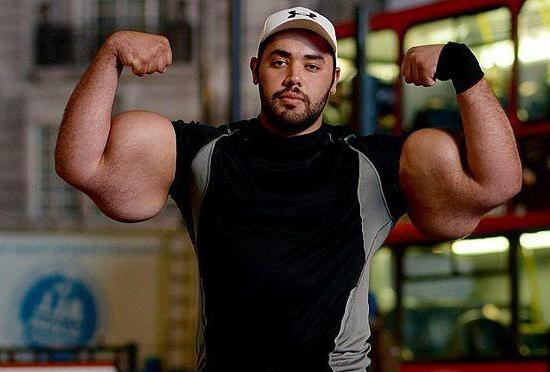 the biggest biceps in the world for women