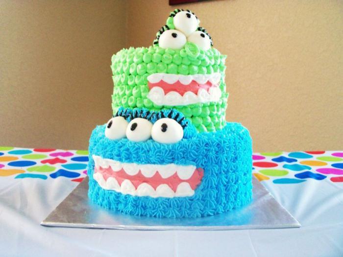 Торт на годик мальчику фото