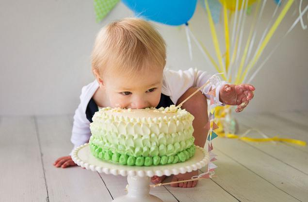 Торт на годик мальчику своими руками