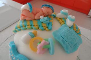 Торт на годик мальчику из мастики