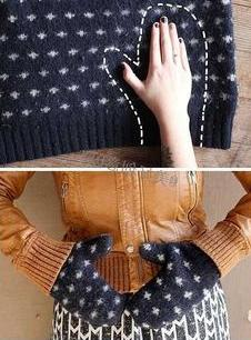 alterations of old things with their own hands