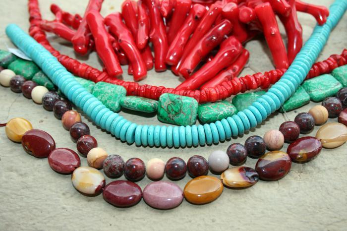 corals stones properties