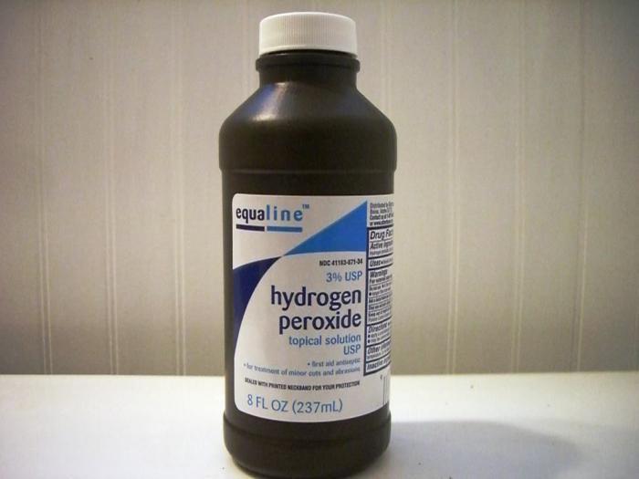 перекись водорода паразитов в организме человека