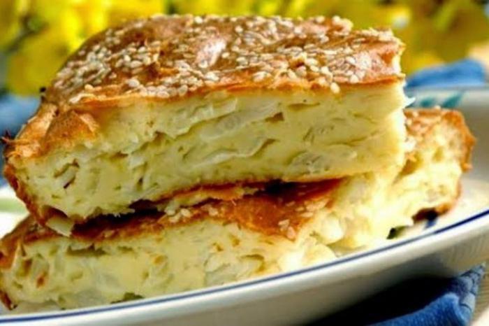 Быстрый заливной пирог на кефире рецепт