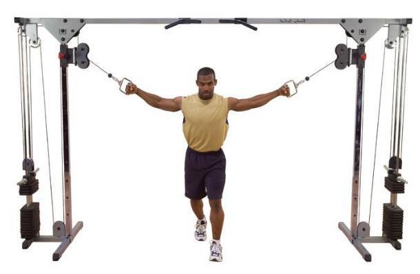 кроссовер тренажер упражнения