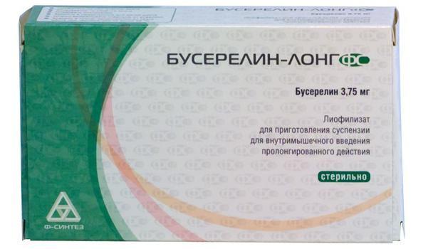Бусерелин какие бывают виды препарата