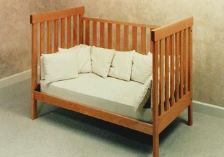 what standard crib size