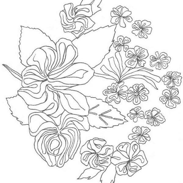 Схемы вышивки лентами с описанием