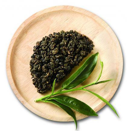 Green milk tea from Thailand