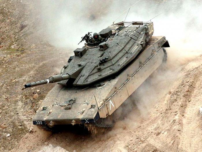 Israeli tank Merkava 4
