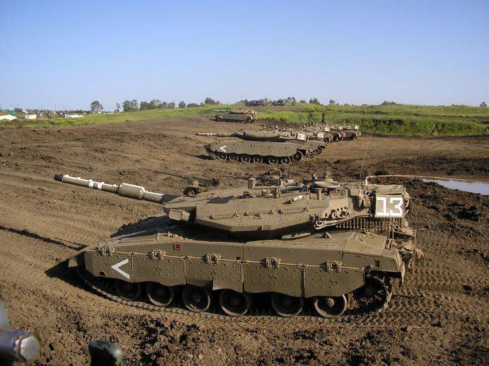 Merkava tank 4 specifications
