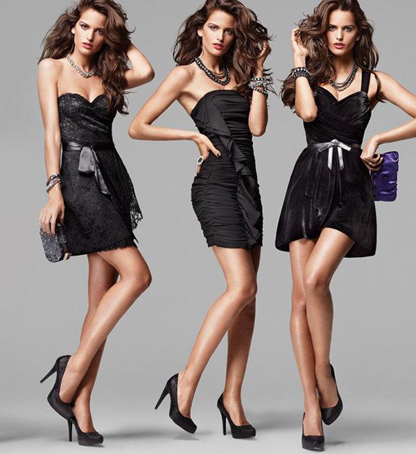 виды платьев