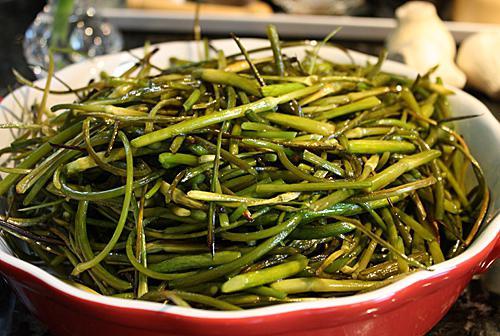how to cook garlic arrows recipe with photos