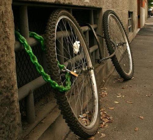 лучший замок для велосипеда