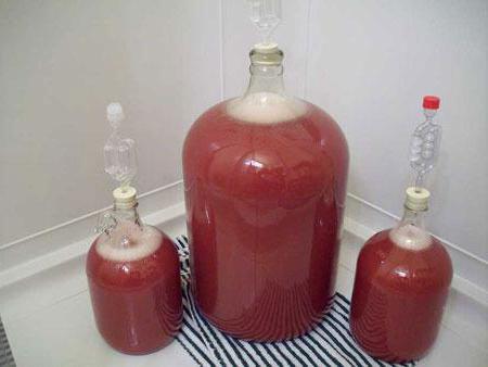 pitted cherry wine recipe