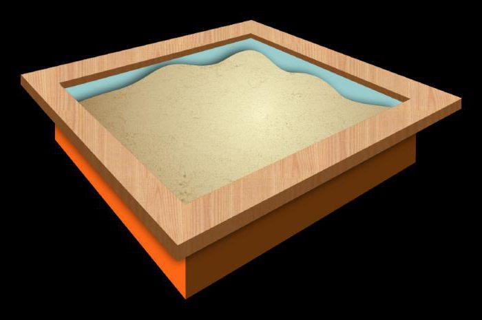 деревянные детские песочницы