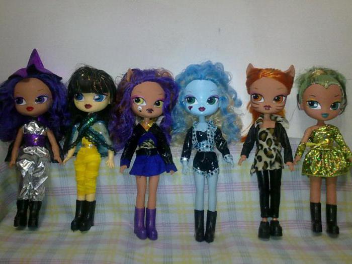 monster dolls high fake swivel