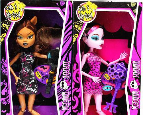 Monster high fake dolls