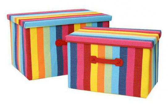 Декор коробки для хранения