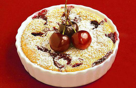 cherry clafouts