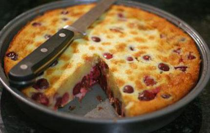 Klafuti with cherry in a slow cooker