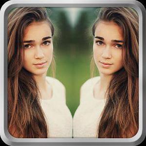 онлайн редактор фото зеркальное отражение