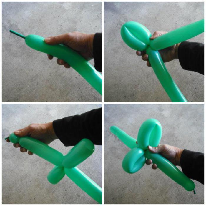 Как сделать из меч из шарика колбаски схема 150
