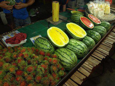 watermelon yellow inside