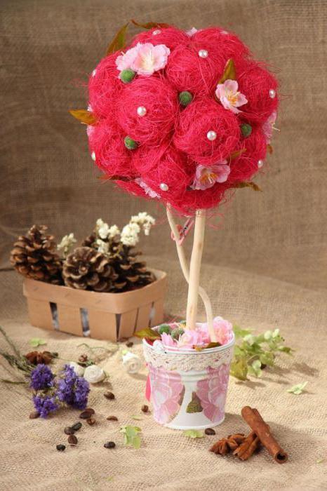 Декор для флористики своими руками