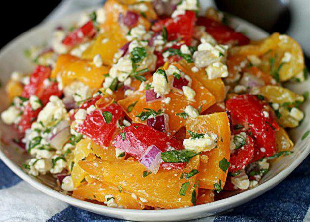 Салат на праздничный стол с маслом