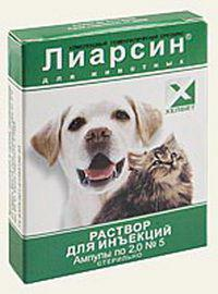 Liarsin for cats