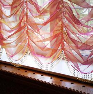 Фото французских штор своими руками