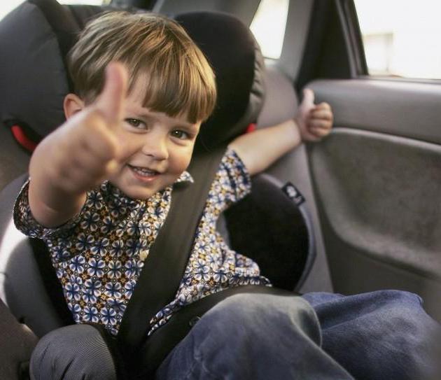 правила дорожного движения перевозка детей в автомобиле