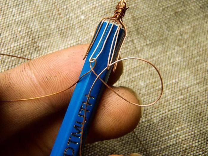 плетение из проволоки для начинающих