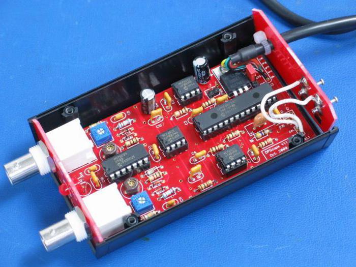 USB-осциллограф своими руками: схема :: SYL.ru