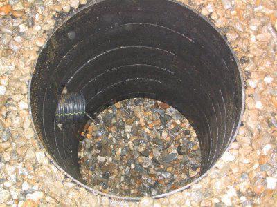 drainage well