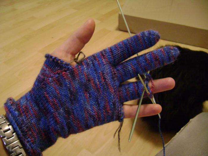 Перчатки своими руками вязаные