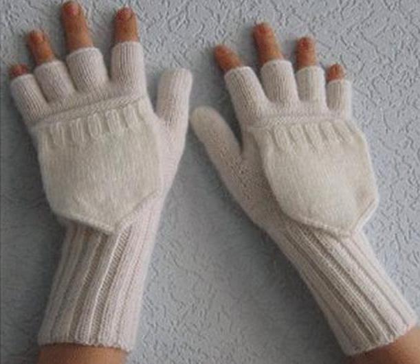 перчатки вязаные мужские