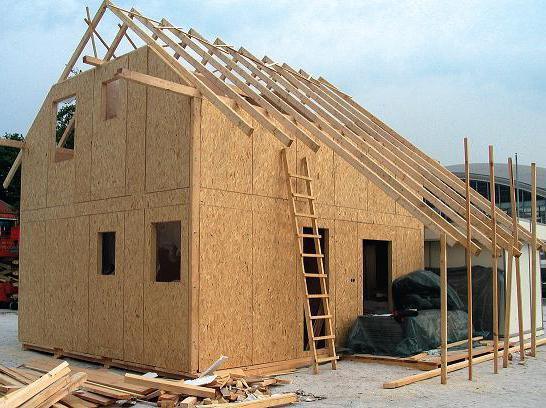 single-storey frame houses