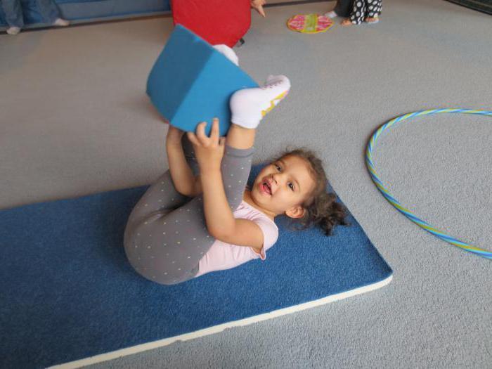 Invigorating gymnastics in the second junior group